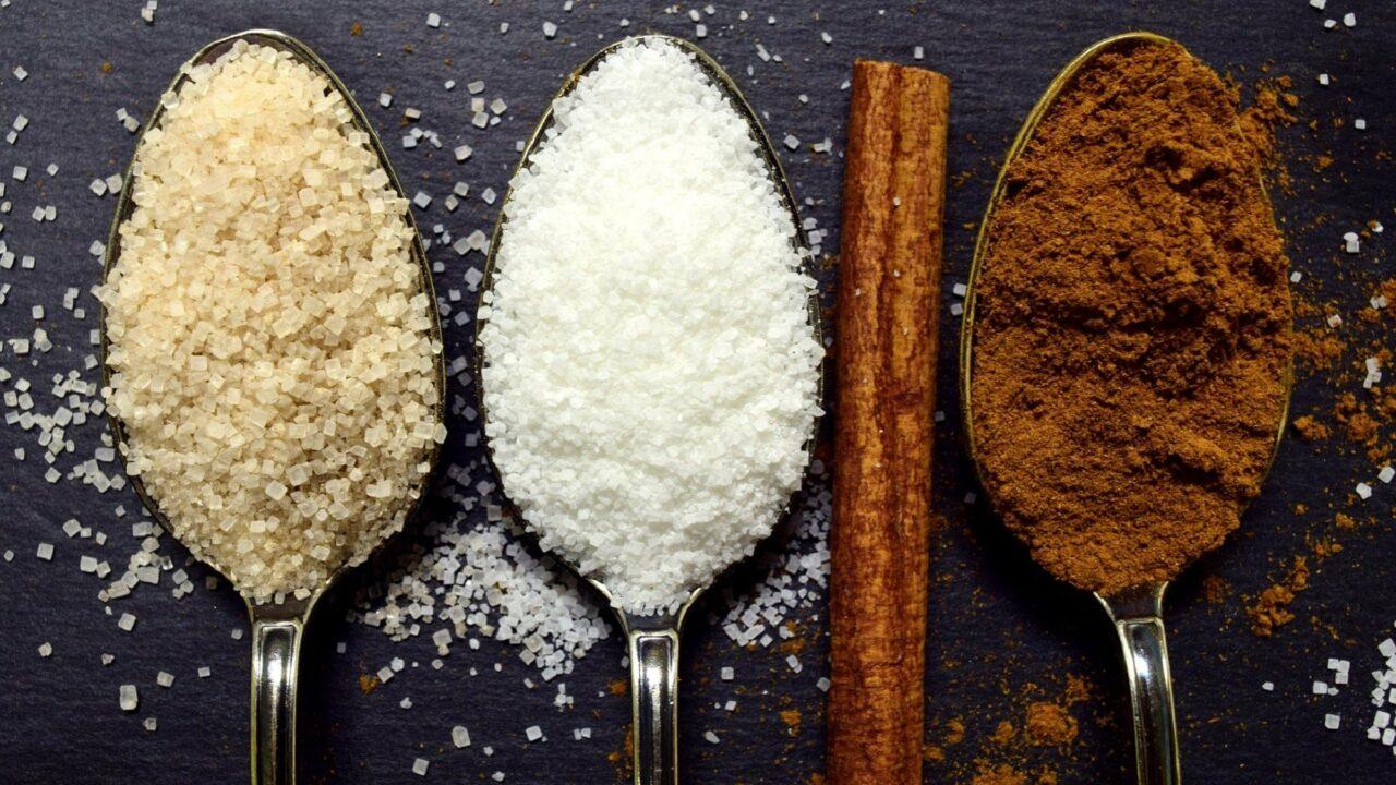 Les différents sucres