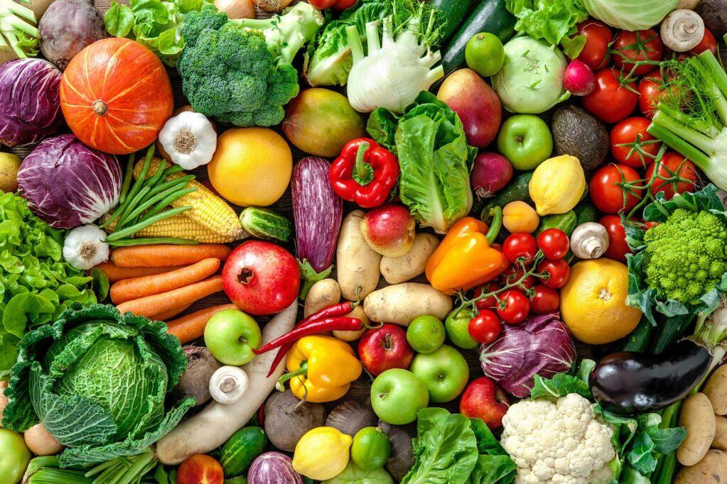 fruits legumes saison